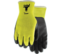 Winter Palm Coated Gloves - EN 388 2141X - EN511 X2X - Rubber Latex / 330 *VISIBULL