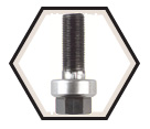 "3/4"" Conduit - Slug-Buster® Knockout Draw Stud"