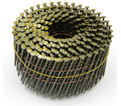 15° Coiled Nails - Ring Shank / Bright Steel