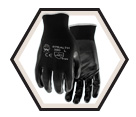 Palm Coated Gloves - Cut Level 1 - Unlined - Nylon / Stealth Original