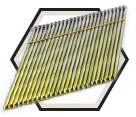 28° Smooth Shank Nails / Bright Steel - Bostitch Wire Strip