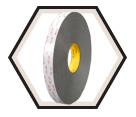 Double-Sided Tape - Foam - Grey / 4941 *VHB