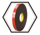 Double-Sided Tape - Foam - Clear / 5952 *VHB