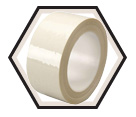 Tape - High Temperature - White / 855