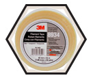 Filament Tape - Glass Yarn - Clear / 8934