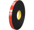 Double-Sided Tape - Foam - Black / B453436 *VHB