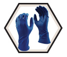 Disposable Gloves - 15 mil - Powder-Free - Nitrile / Grease Monkey