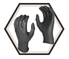 Disposable Gloves - 5 mil - Powder-Free - Nitrile / Grease Monkey
