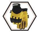 Winter Gloves - Thinsulate C40 Lined - Full Grain Goatskin / Flextime