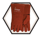 Welding Gloves - Lined - Split Cowhide / Fire Brand