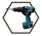 "Hammer Driver Drill LXT (Kit) - 1/2"" Chuck - 18V Ni-MH / 8444DWFE"