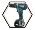 "Hammer Driver Drill LXT (Kit) - 1/2"" Chuck - 18V Li-Ion / DHP456RFE"
