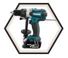 "Hammer Driver Drill LXT - 1/2"" Chuck - 18V Li-Ion / DHP458 Series"