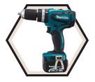 """Hammer Driver Drill (Kit) - 1/2"""" Chuck - 14.4V Li-Ion / BHP440"""