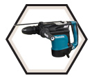 """Rotary Hammer (w/o Acc) - 1-3/4"""" SDS-MAX - 13.5 amps / HR4511C *AVT™"""