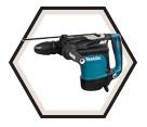 """Rotary Hammer (Kit) AVT™ - 19.8 lbs - 1-3/4"""" SDS-MAX - 13.5 amps / HR4511C"""