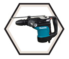 """Rotary Hammer (Kit) AVT™ - 19.6 lbs - 1-3/4"""" SDS-MAX® - 13.5 amps / HR4510C"""