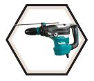 """Rotary Hammer (Kit) AVT™ - 15.1 lbs - 1-9/16"""" SDS-MAX® - 11.0 amps / HR4013C"""