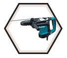 """Rotary Hammer (Kit) AVT™ - 14 lbs - 1-9/16"""" SDS-MAX® - 11.0 amps / HR4011C"""