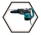 """Rotary Hammer (Kit) AVT™ - 26.5 lbs - 2"""" SDS-MAX® - 15 amps / HR5211C"""