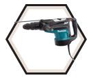 """Rotary Hammer (Kit) AVT™ - 25.5 lbs - 2"""" SDS-MAX® - 15 amps / HR5210C"""