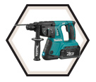 "Rotary Hammer (Kit) - 1"" SDS Plus - 36V Li-Ion / HRH01 *X2"
