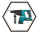 "Rotary Hammer (Tool Only) - 1"" SDS Plus - 36V Li-Ion / DHR264Z *LXT™"