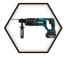 "Rotary Hammer (Kit) - 15/16"" SDS Plus - 18V Li-Ion / DHR241RFE *LXT™"