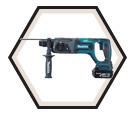 """Rotary Hammer (Kit) LXT™ - 7.7 lbs - 15/16"""" SDS Plus® - 18V Li-Ion / BHR241F"""