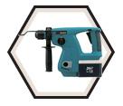 "Rotary Hammer (Kit) - 13/16"" SDS Plus - 24V Ni-MH / BHR200SJE"