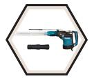 "Rotary Hammer (Kit) AVT™ - 19.8 lbs - 1-3/4"" SDS-MAX® - 13.5 amps / HR4511CV"