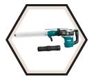"Rotary Hammer (Kit) AVT™ - 15.1 lbs - 1-9/16"" SDS-MAX® - 11.0 amps / HR4013CV"