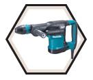Demolition Hammer (Kit) AVT™ - 12.4 lbs - SDS-MAX® - 10.0 amps / HM0871C