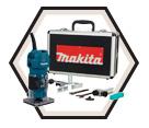 "Trimmer (Kit) - 1/4"" Collet - 4.0 amps / 3709X"