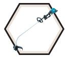 Curved Shaft Line Trimmer LXT (Tool Only) - 36V Li-Ion / HRU01ZX2