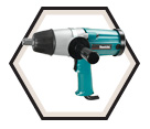 "Impact Wrench (Kit) - 3/4"" sq. dr. - 9 amps / 6906"