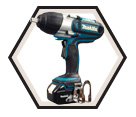 "Impact Wrench LXT (Kit) - 1/2"" sq. dr. - 18V Li-Ion / DTW450FX1"