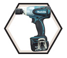 "Impact Wrench LXT (Kit) - 1/2"" sq. dr. - 14.4V Li-Ion / BTW250"