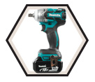 "Impact Wrench LXT Brushless - 1/2"" sq. dr. - 18V Li-Ion / DTW281 Series"