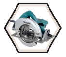 "Circular Saw (Tool Only) - 7-1/4"" dia. - 15.0 amps / 5007FA"