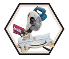 "Compound Mitre Saw - 10"" dia. - 15.0 amps / LS1040"