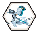 "Sliding Compound Mitre Saw - 10"" dia. - 13.0 amps / LS1017L"