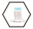 16 oz. - Cotton Wide Band Wet Mop