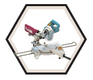 "Dual Sliding Compound Mitre Saw - 7-1/2"" dia. - 10.0 amps / LS0714"