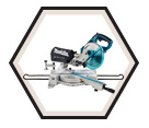 "Dual Sliding Compound Mitre Saw LXT - 7-1/2"" dia. - 18V Li-Ion / DLS713Z"