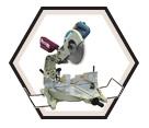 """Dual Sliding Compound Mitre Saw - 12"""" dia. - 15.0 amps / LS1214"""