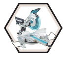 "Dual Sliding Compound Mitre Saw - 12"" dia. - 15.0 amps / LS1216"