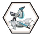 "Dual Sliding Compound Mitre Saw - 10"" dia. - 15.0 amps / LS1016X"