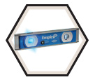 "Level - Magnetic Torpedo - 9"" - LED Light / EM95.10 *ULTRAVIEW"