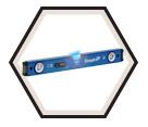 Box Beam Levels - Magnetic - LED Light / EM95 Series *ULTRAVIEW